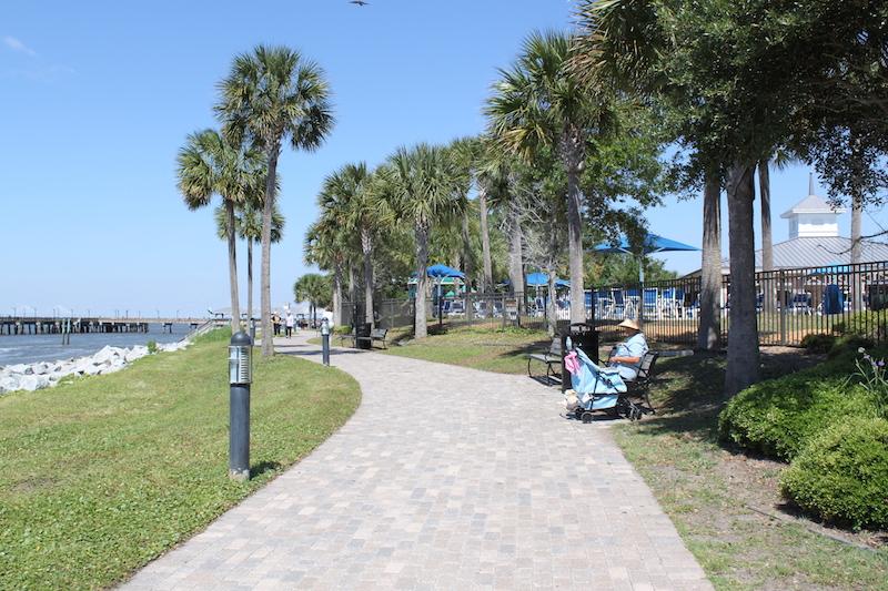 St Simons Island path